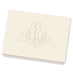 Paris Monogram Note