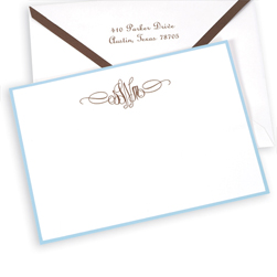 Sienna Monogram Card