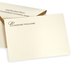 Cambridge Correspondence Card